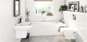 Bathroom suites for small bathrooms   VictoriaPlum.com