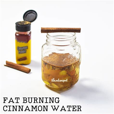 Tummy Burning Detox Water by Burning Cinnamon Detox Water Recipe Theindianspot