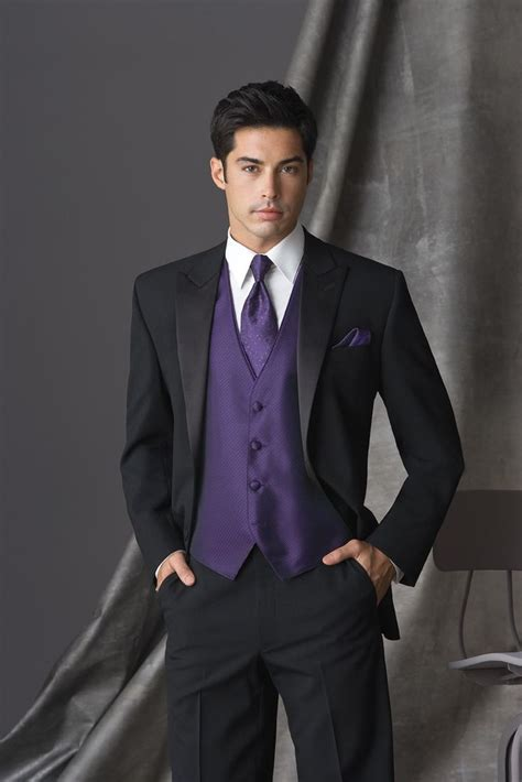 25 best ideas about wedding tuxedo purple on
