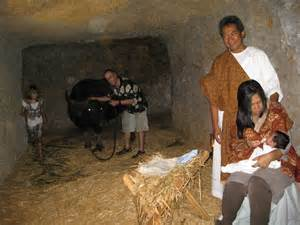 Jesus was probably born in a cave not a wood stable at the time