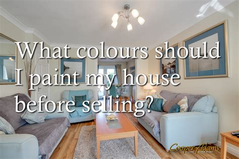 should i paint my house before selling what colours should i pain