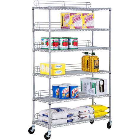 honey can do 6 tier shelving unit chrome walmart