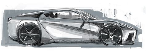 ferrari front drawing how to draw cars view