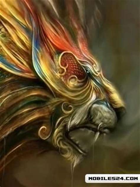 htc tattoo phoenix abstract lion free htc tattoo wallpaper download
