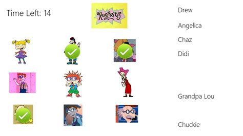 rug rats names rugrats characters names images