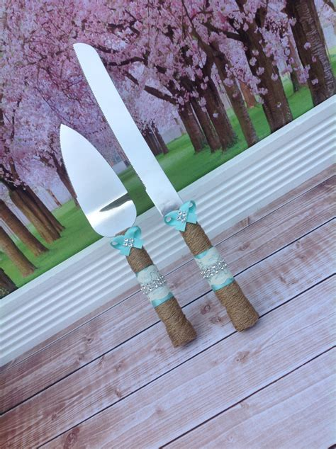 Hochzeitstorte Versetzt by Wedding Cake Knife Set Burlap Knife Set Cake Cutting Set