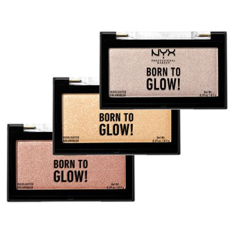 Nyx Born To Glow nyx professional makeup born to glow highlighter eleven se