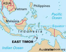 East Timor Location On World Map by Where Is East Timor Located On A Map