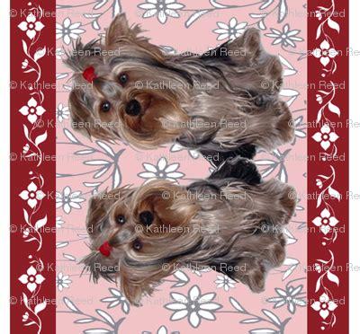 yorkie wallpaper border terrier wallpaper custom border wallpaper dogdaze spoonflower