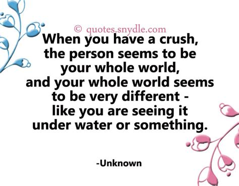 Crush Quotes A Crush On Someone Quotes Like Success