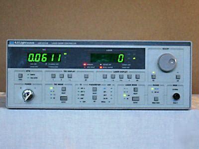 diode laser current controller ilx ldc 3724b laser diode controller current source