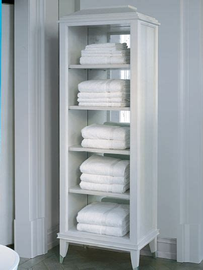 Bathroom Towel Storage Units Image Of A Free Standing Shagreen Towel Rack Sherree S Bathroom Ideas Pinterest Bespoke