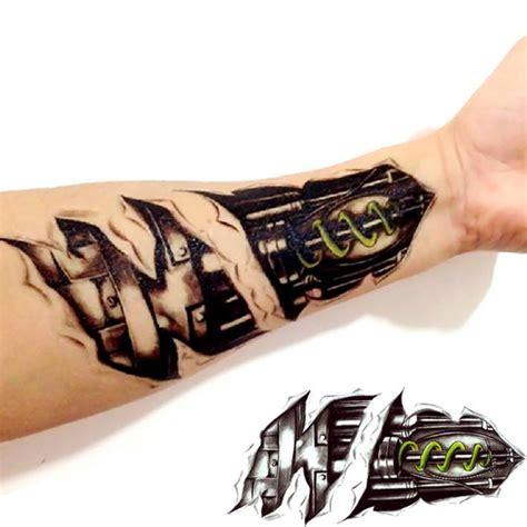 tattoo 3d machine 3d machine tattoo temporary tattoo stickers men decoration