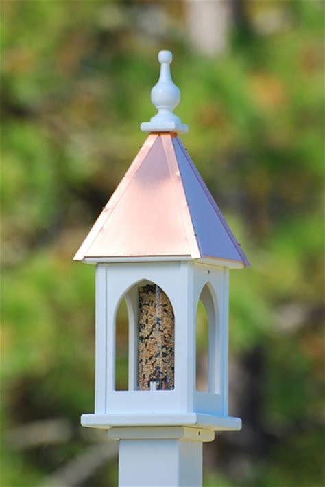Square Bird Feeder 8 Quot Square Gazebo Bird Feeder Bright Copper