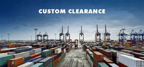 customs clearance services  waltair visakhapatnam