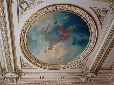 Ceiling Centre by Review Of Restaurant Louis Xv In Monaco By Andy