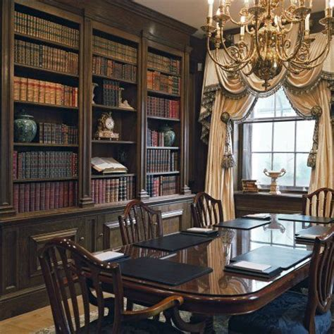 Library Style Dining Room The World S Catalog Of Ideas