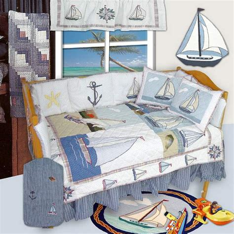 Baby Bedding Nautical Boy Nautical Crib Bedding