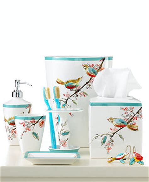 lenox simply bath accessories chirp collection