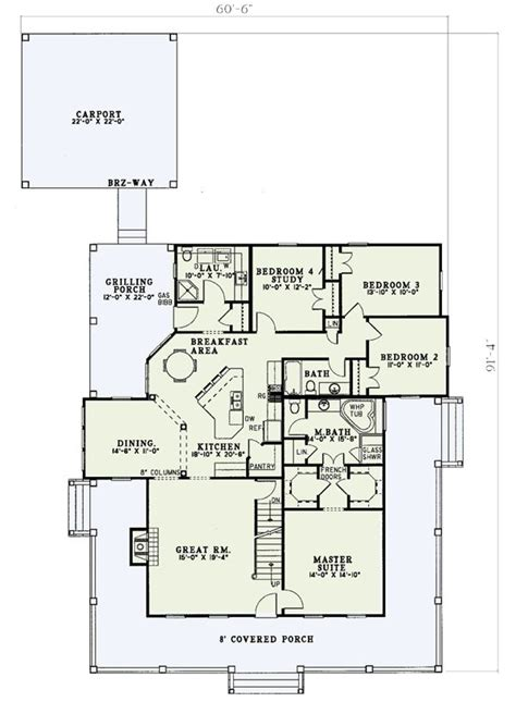 floor plans with wrap around porch floor 1 wrap around porch w5921nd architectural designs