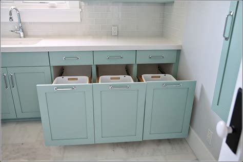 bathroom cabinet with built in laundry corner laundry her as the solution homesfeed