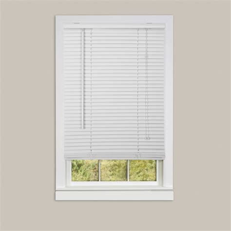 Mini Blinds For Windows Window Blinds Mini Blinds 1 Quot Slats Room Darkening Vinyl