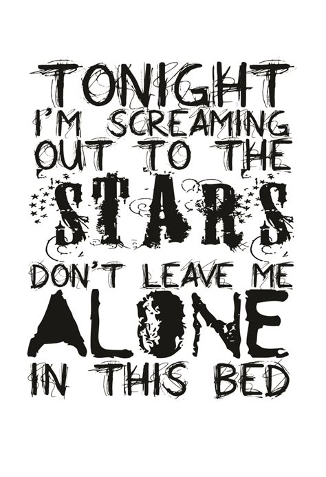 Framing Hanley Alone In This Bed Lyrics Alone In This Bed By Mouseluva On Deviantart