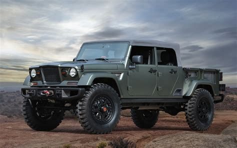 Of A Jeep Jeep Unleashes 7 Gnarly Concepts