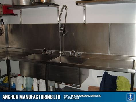 Kitchen Sink Cafe Restaurant Kitchen Sink And Pullout Spout Tap Anchor