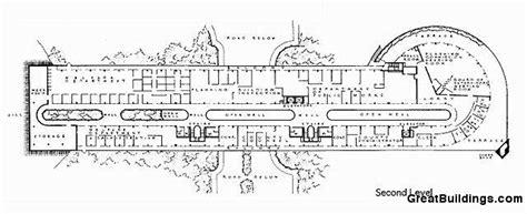 Frank Lloyd Wright Floor Plans Gallery Of Ad Classics Marin Civic Center Frank Lloyd
