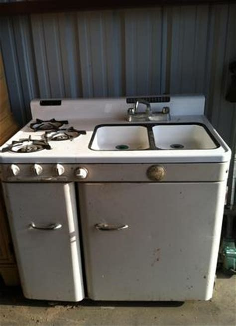 sink stove refrigerator combo 1950 ge stove sink oven fridge combo