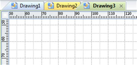 Online Scale Drawing Program rulers and grids