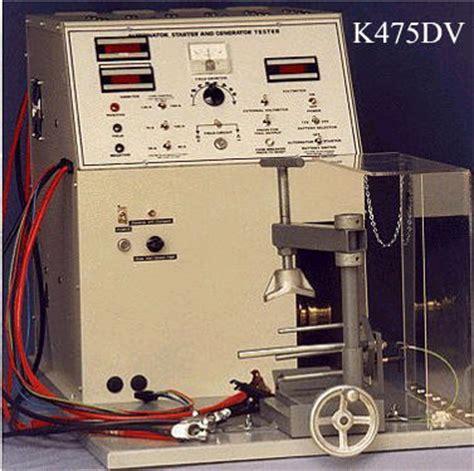alternator bench tester alternator starter bench tester