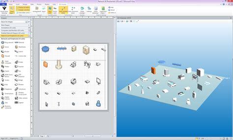 microsoft visio 3d 3d visioner 2013