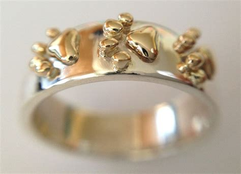 paw ring crafted paw ring by chris alix jewelry inc custommade