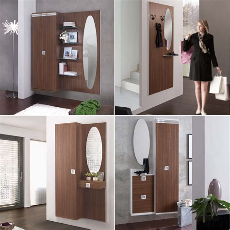 mobili d ingresso idee mobili ingresso in legno noce una scelta calda e