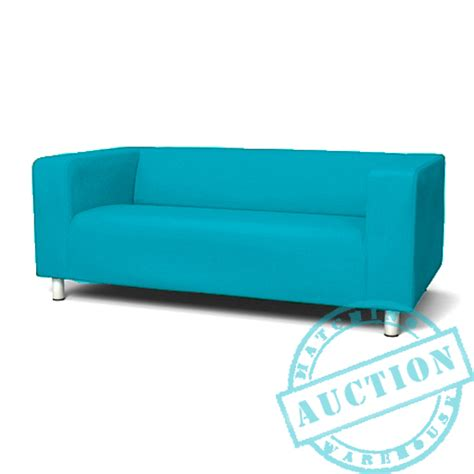 turquoise sofa cover turquoise new custom cover slipcover to fit ikea klippan 2