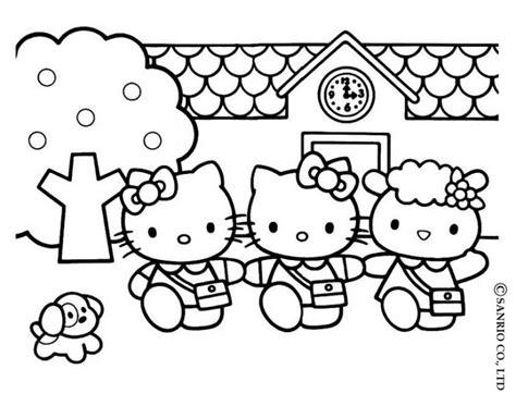 imagenes de la kitty bebe hello kitty4 dibujo de hello kitty para imprimir