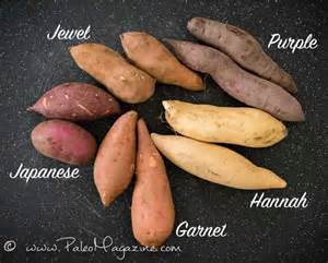 types of sweet potatoes with images and why you should eat each