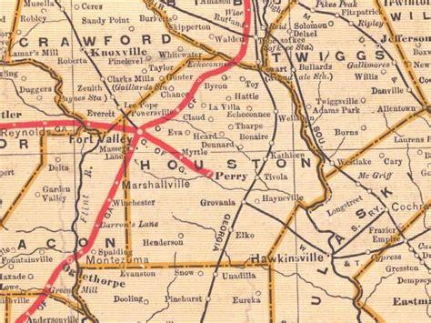 map of houston county alabama georgiainfo