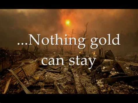 dramanice nothing gold can stay nothing gold can stay poem by robert frost youtube