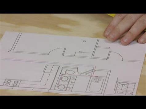 draw plumbing lines   floor plan plumbing