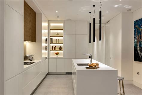 Kitchen Backsplash Photos White Cabinets kitchen design idea white modern and minimalist