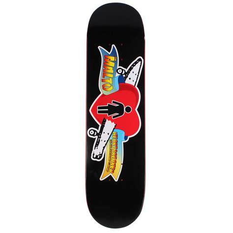 skate decks malto heartbreaker skateboard deck evo outlet