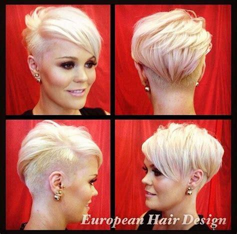 pixie cut back on pinterest shaved nape edgy pixie hair die besten 17 bilder zu kurze haare auf pinterest kurzer