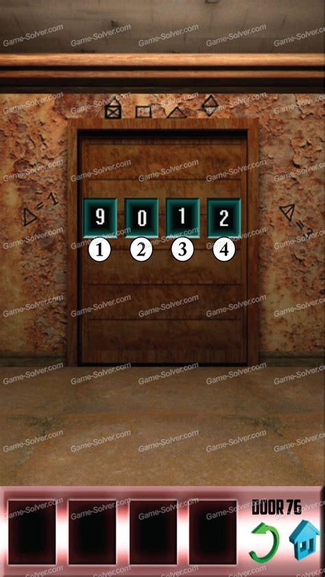 100doors lvl 4 100 doors level 76 game solver