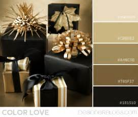 what color goes with black and gold color palette black gold designerblogs