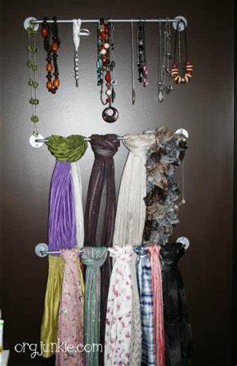 Scarves Closet by 4 Inexpensive Ways To Organize Scarves