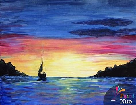 paint nite island events paint nite sail away 1