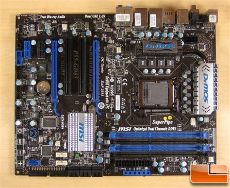msi p55 gd85 lga 1156 intel motherboard review legit